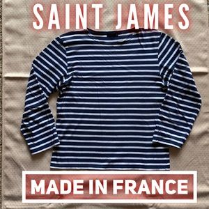 ⚡️Saint James France original navy stripe Breton
